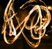Fire show 2 Royalty Free Stock Images
