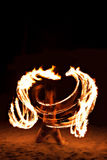 Fire show Stock Image