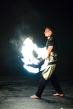 Fire show. Stock Photography