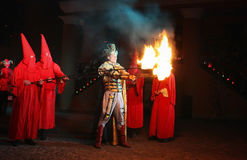 Fire show Royalty Free Stock Photos