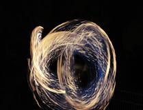 Fire show Stock Photos