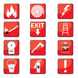 Fire signs Royalty Free Stock Photo