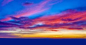 Fire in the Sky Royalty Free Stock Photos