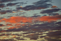 Fire sky Royalty Free Stock Images