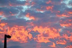 Fire Sky Royalty Free Stock Image