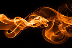 Fire smoke. Smoke abstract photo to background Royalty Free Stock Photography