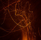 Fire sparks Royalty Free Stock Photos