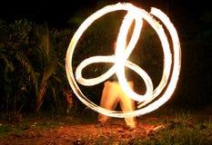 Fire Spinning Stock Photos