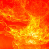 Fire Splash abstract background Royalty Free Stock Photo