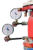 Fire Sprinkler Control System Royalty Free Stock Images