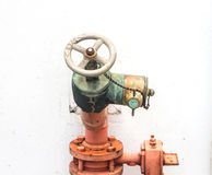 Fire Sprinkler Control System Royalty Free Stock Photo