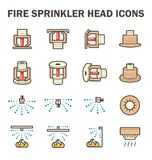 Fire sprinkler icon Royalty Free Stock Photography