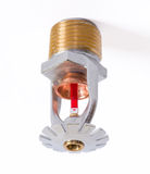 Fire sprinkler nozzle pendent fast response Stock Photo