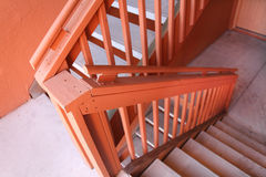 Fire stairs Royalty Free Stock Photos