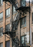 Fire Stairwell Stock Image