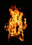 Fire Star Royalty Free Stock Photo