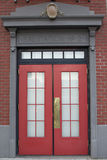 Fire Station Entrance royalty free stock photography