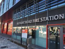 The fire station Stock Images