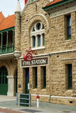 Fire station. A historic fire station in Perth, Western Australia royalty free stock photos