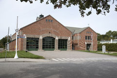 Fire station in Mystic Connecticut USA Stock Photos