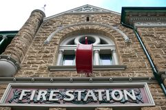 Fire Station in Perth Stock Photos