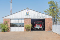 Fire station in Ritchie Stock Images