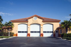 Fire Station1. Fire Station No. 3 in Central Florida Stock Photo