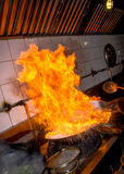 Fire of stir Stock Image