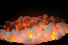 Fire stones Stock Image