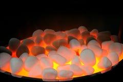 Fire stones Stock Image