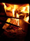 Fire stove Stock Image