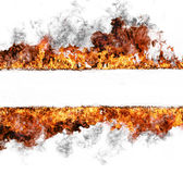 Fire stripe Royalty Free Stock Image