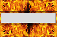 Fire stripe Stock Image