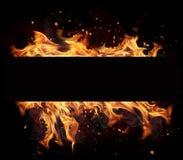 Fire stripe Royalty Free Stock Photo