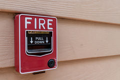 Fire switch Royalty Free Stock Photos