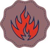 Fire symbol Stock Photos