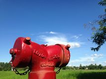 Fire tank Royalty Free Stock Image