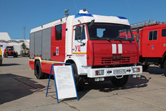 Fire tank truck Stock Image