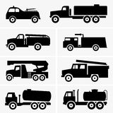 Fire and tank trucks. Available in high-resolution and several sizes to fit the needs of your project Royalty Free Stock Image