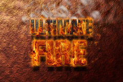 Ultimate Fire Stock Image