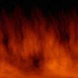 Fire texture. 3D rendering of fire texture Stock Photos