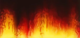 Fire texture. Generated by computer Royalty Free Stock Photography
