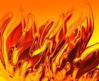 Fire texture. Generated by the computer Stock Images