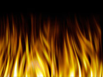 Fire texture royalty free stock photos
