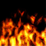 Fire texture. Generated by the computer Royalty Free Stock Photography