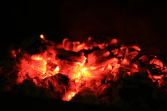 Fire time... royalty free stock photos