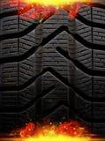 Fire tire Stock Photos