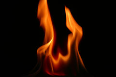 Fire tongue Royalty Free Stock Photos