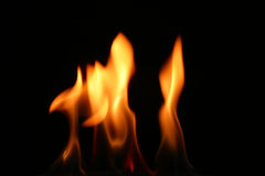 Fire tongue Royalty Free Stock Image