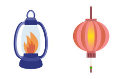 Fire torch victory champion flame icon vector illustration. Royalty Free Stock Photography